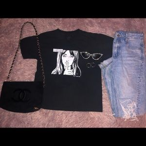 Brandy Melville I'll meet you in New York tee